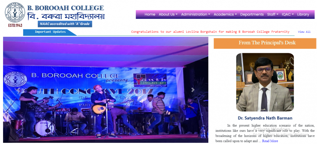 B Borooah College Merit list 2021 BA BSc HS 1st & 2nd Year   College Admission / Seat Capability & Seat Capacity / Eligibility Criteria & Eligibility Condition   B. Borooah College Admission Merit List 2021-2022,
